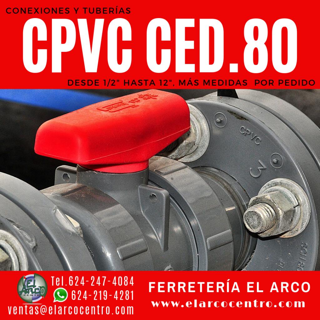 CPVC cédula 80