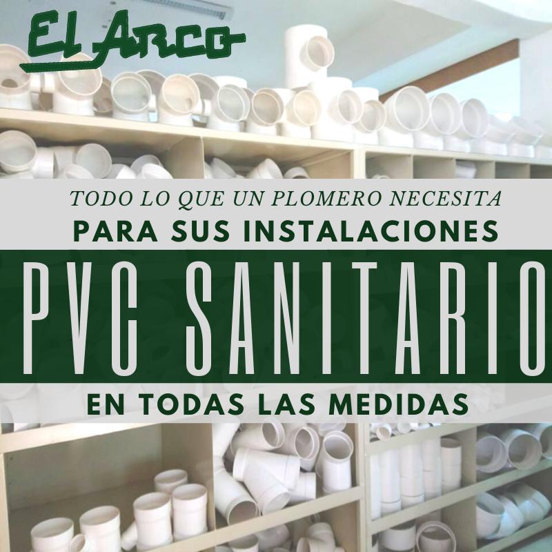 PVC SANITARIO TUBERIA Y CONEXIONES