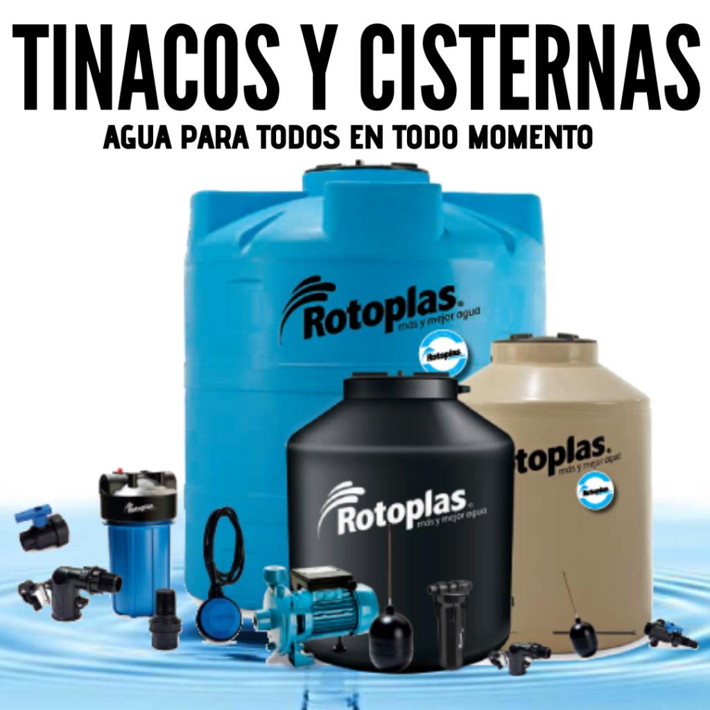 COMPRA TINACOS Y CISTERNAS